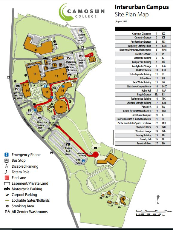 camosun college interurban campus map Camosun College Issues Construction Page 2 Saanich camosun college interurban campus map