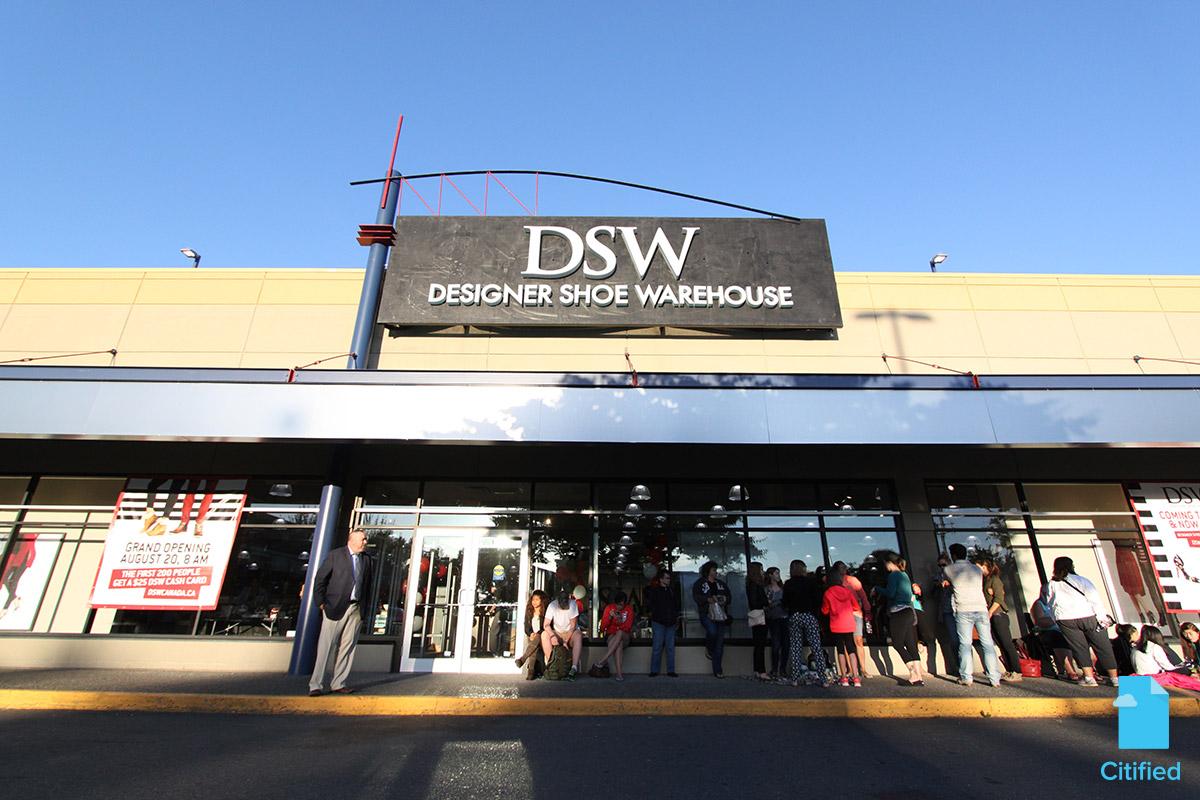 Dsw Designer Shoe Warehouse Island Home Centre Retail Establishments Grocery Markets